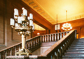 Imperial Castle, Poznań - The Kaiserliche Stairs in Castle