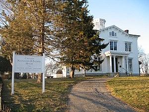 Nathaniel Palmer - Capt. Nathaniel B. Palmer House, Stonington, CT