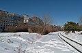 CN Wharf Spur and Rue de la Commune.jpg