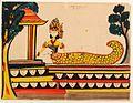 COLLECTIE TROPENMUSEUM Aquarel voorstellende de Javaanse godin Njai Blorong TMnr 660-1.jpg