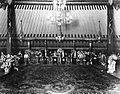 COLLECTIE TROPENMUSEUM Officiële ontvangst in de feestzaal van het kraton van Yogyakarta TMnr 60025427.jpg