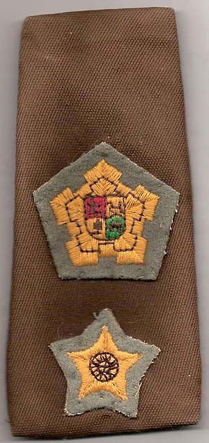 Commandant - South African army commandant insignia 1950-1994