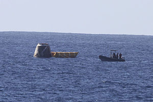 COTS 1 Dragon recovery