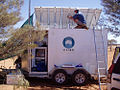 CSIRO ScienceImage 3577 Using this solarpowered trailer CSIRO made extensive measurements of the background level of radio signals at Mileura.jpg