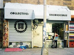 Ludlow Street (Manhattan) - Collective:Unconscious Theater at 145 Ludlow in 1997