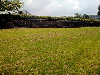 Isca Augusta - Roman fortress walls, Isca Augusta