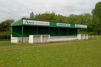 Caerleon A.F.C. - Image: Caerleon Football Club