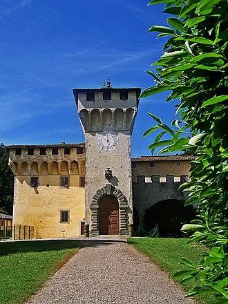 Barberino di Mugello - Image: Cafaggiolo Villa front long
