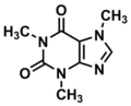 Caffeine structure.png