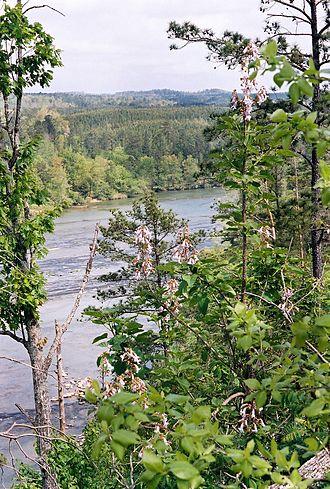 Cahaba River - Image: Cahaba River NWR2
