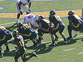 Cal on offense at 2008 Big Game 2.JPG