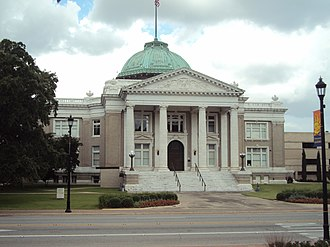 National Register of Historic Places listings in Calcasieu Parish, Louisiana - Image: Calcasieu Parish Courthouse, Lake Charles, LA