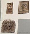 Calco di un rilievo con profilo di augusto forse pseudoantico + stele cil vi 23660 e iscriz. cil vi 38867a.JPG