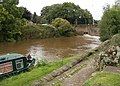 Calder and Hebble Navigation at Horbury Bridge - geograph.org.uk - 952094.jpg