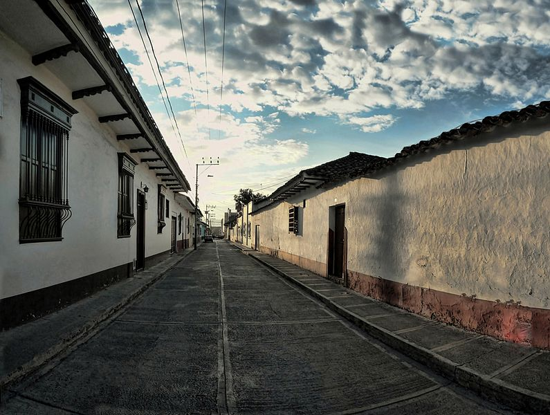 Sector Antiguo de la ciudad de Buga. De Hernán Ordóñez Valverde.