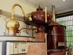 Calvados - A calvados pot still
