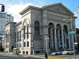 Calvary Presbyterian Church (San Francisco) - Image: Calvary Presbyterian (San Francisco, California) 3