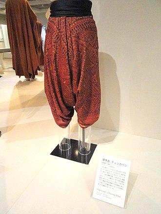 Chang kben - Chang Kben displayed in Bunka Gakuen Costume Museum.