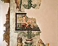 Camillo mantovano, resti di affreschi della sala di psiche con candelabre vegetali che sorreggono cacciagione e pesci, 1538-39 ca. 10.jpg