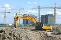 Camp Humphreys Construction - Hyundai excavator.jpg