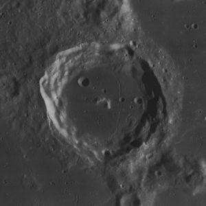 Campanus (crater) - Image: Campanus crater 4131 h 3