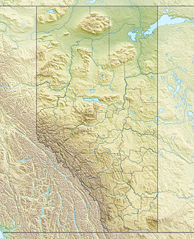 Sawback Range is located in Alberta