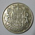 Canadian 1951 Half Dollar.JPG