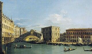 Venice: The Rialto Bridge from the North