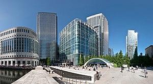 Canary Wharf 360° view