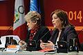 Canciller Eda Rivas resaltó importancia de garantizar políticas sociales a futuro (13943956037).jpg