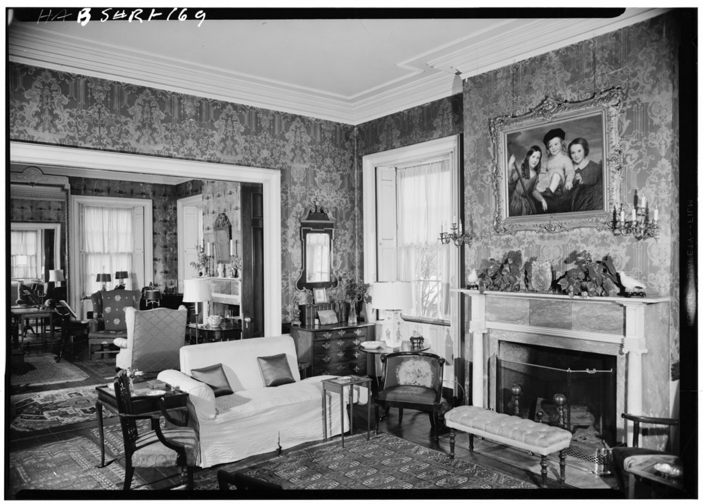 File candace allen house 1958 southeast parlor showing for Allen house