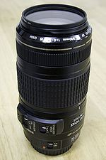 EF 70–300mm f /4–5.6 IS USM [ edit ]