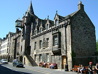 Canongate Tolbooth - The Canongate Tolbooth, built in 1591.