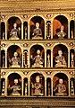 Capela das Onze mil Virgens, Relicário (pormenor), Igreja do Colégio, Funchal.jpg