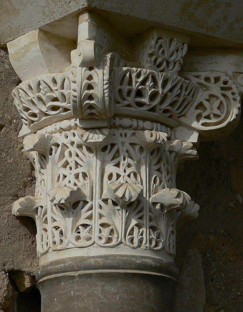 Капители стиля Avispero, Испания