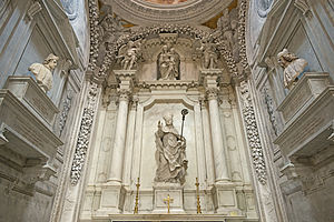 Tommaso Temanza - the chapel Sagredo San Francesco della Vigna