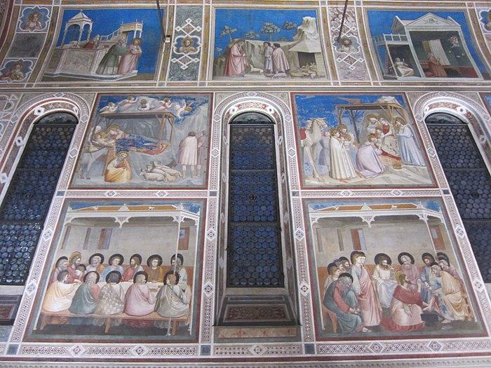 Cappella degli Scrovegni (Padua) - Interior 04.jpg