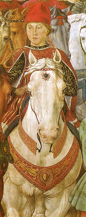 Palazzo Medici Riccardi - Sforza was himself depicted in the chapel's fresco.