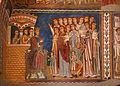 Cappella di san silvestro, affreschi del 1246, storie di costantino 01 malato conforta le vergini 2.jpg