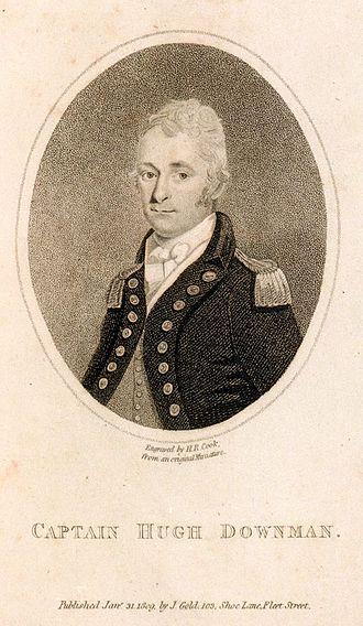 Hugh Downman - Image: Captain Hugh Downman