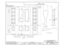 Captain Samuel Bowman House, 220 North Main Street, Wilkes-Barre, Luzerne County, PA HABS PA,40-WILB,3- (sheet 8 of 15).png