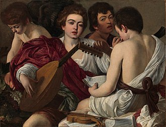 History of Italy (1559–1814) - The Musicians by Caravaggio