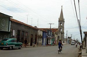 Cárdenas, Cuba - Street in Cárdenas
