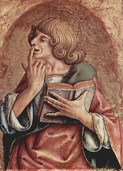 John the Evangelist, by Carlo Crivelli, c. 1475.