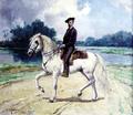 Carlos Relvas Montando o Rollito (1883) - José Malhoa (Museu dos Patudos).png