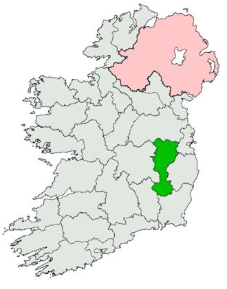 Carlow–Kildare (Dáil Éireann constituency) - Image: Carlow Kildare former Dáil constituency