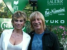 Enzo Paolo Turchi in un'immagine del 2008, con la moglie Carmen Russo