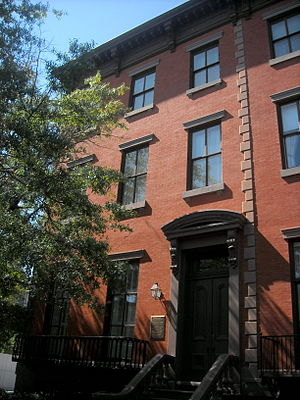Carnegie Endowment for International Peace - Peter Parker House at 700 Jackson Pl., NW, Washington, D.C., housed CEIP 1910–1948, when it relocated to New York City