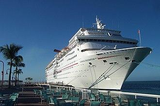 Carnival Fascination - Carnival Fascination docked in Key West, Florida.