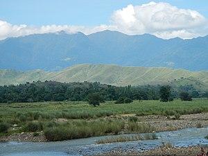 Pantabangan–Carranglan Watershed Forest Reserve - Carranglan River in Carranglan, a headwater of the Pampanga River